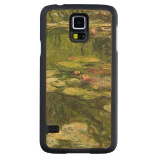 Coque En Érable Galaxy S5 Case Nénuphars de Claude Monet |