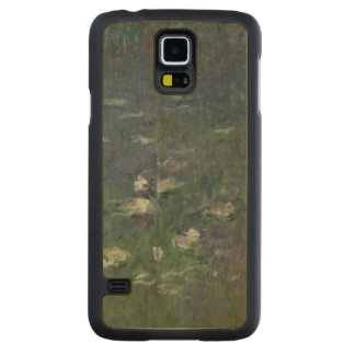 Coque En Érable Galaxy S5 Case Nénuphars de Claude Monet | : Matin, 1914-18