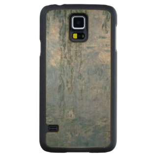 Coque En Érable Galaxy S5 Case Nénuphars de Claude Monet | : Saules pleurants,