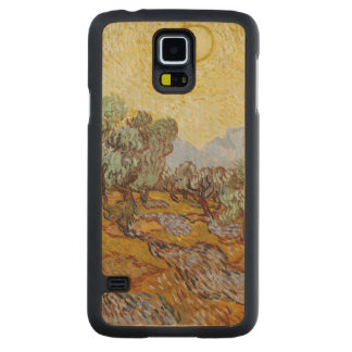 Coque En Érable Galaxy S5 Case Oliviers de Vincent van Gogh |, 1889