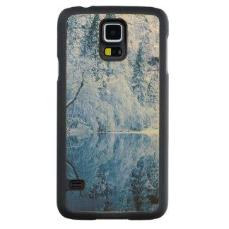Coque En Érable Galaxy S5 Case Parc national de la rivière | Yosemite de Merced,