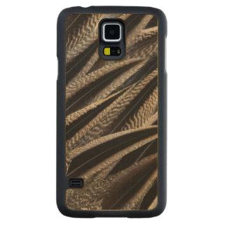 Coque En Érable Galaxy S5 Case Plumes de canard de canard pilet du nord