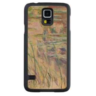 Coque En Érable Galaxy S5 Case Réflexions de Claude Monet | sur l'eau, 1917