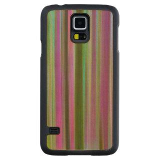 Coque En Érable Galaxy S5 Case Résumé de forêt tropicale de Hoh au crépuscule  