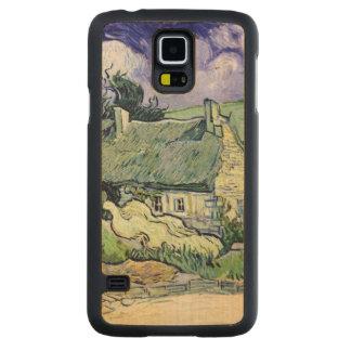 Coque En Érable Galaxy S5 Case Vincent van Gogh | a couvert des cottages de