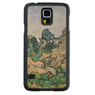 Coque En Érable Galaxy S5 Case Vincent van Gogh | l'Alpilles, 1889