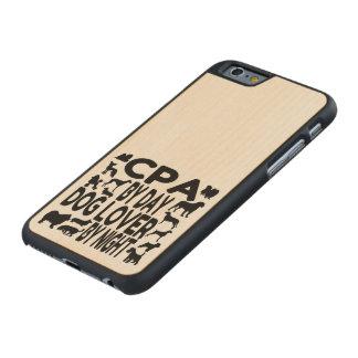Coque En Érable iPhone 6 Case Amoureux des chiens CPA