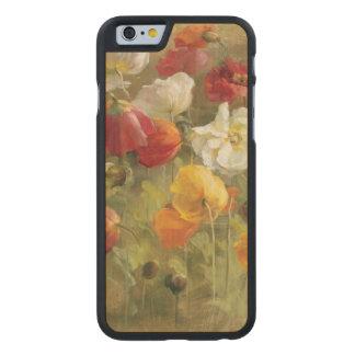 Coque En Érable iPhone 6 Case Champ de pavot