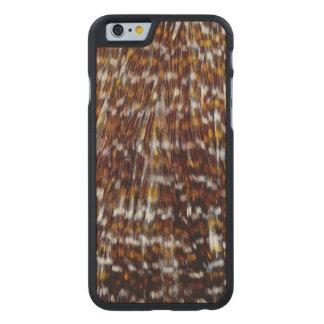 Coque En Érable iPhone 6 Case Conception de plume de plume de cou