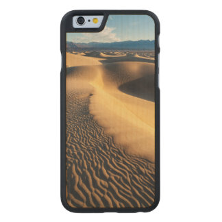 Coque En Érable iPhone 6 Case Dunes de sable dans Death Valley, CA