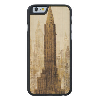 Coque En Érable iPhone 6 Case Empire State Building NYC