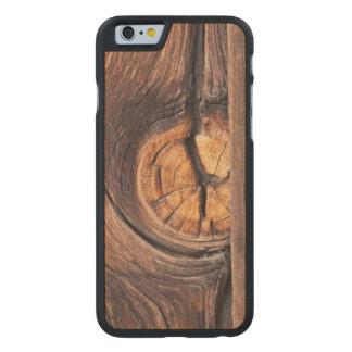 Coque En Érable iPhone 6 Case Fermez-vous d'un noeud en bois, la Californie