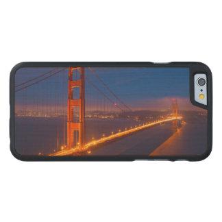 Coque En Érable iPhone 6 Case Golden gate bridge, la Californie