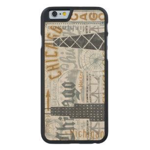 Coque En Érable iPhone 6 Case Hé cru de Chicago