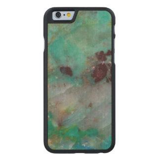 Coque En Érable iPhone 6 Case Jaspe bleu de Chrysocolla