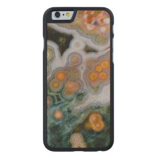 Coque En Érable iPhone 6 Case Jaspe repéré d'océan