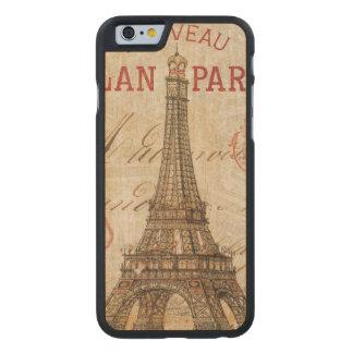 Coque En Érable iPhone 6 Case Lettre de Paris