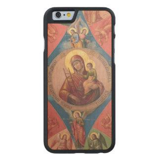 Coque En Érable iPhone 6 Case Mary, Jésus, et anges