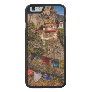 Coque En Érable iPhone 6 Case Monastère du nid du tigre, Bhutan