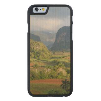 Coque En Érable iPhone 6 Case Paysage panoramique de vallée, Cuba