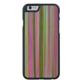 Coque En Érable iPhone 6 Case Résumé de forêt tropicale de Hoh au crépuscule |