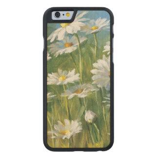 Coque En Érable iPhone 6 Case Un champ des marguerites blanches