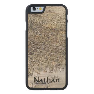 Coque En Érable iPhone 6 Case Vue de San Francisco, 1878