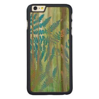 Coque En Érable iPhone 6 Plus Collage des fougères et de la forêt | Seabeck, WA