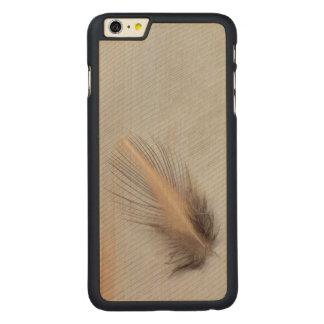 Coque En Érable iPhone 6 Plus D'oie de plume toujours la vie blanche