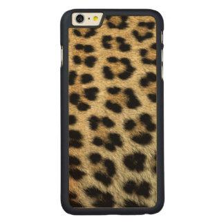 Coque En Érable iPhone 6 Plus Fermez-vous des taches de léopard, Afrique
