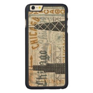 Coque En Érable iPhone 6 Plus Hé cru de Chicago