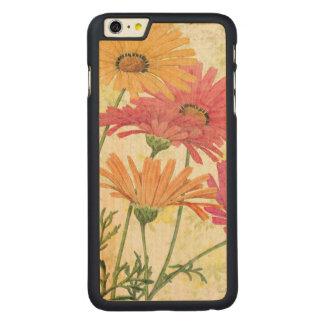 Coque En Érable iPhone 6 Plus Marguerites décoratives
