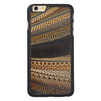 Coque En Érable iPhone 6 Plus Plumes d'aile de faisan d'Argus