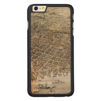 Coque En Érable iPhone 6 Plus Vue de San Francisco, 1878