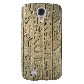 Coque Galaxy S4 Affaire 2 de point de hiéroglyphes