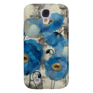 Coque Galaxy S4 Aigue-marine florale