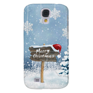 Coque Galaxy S4 Art de Noël - illustrations de Noël