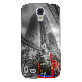 Coque Galaxy S4 Autobus jaune canari de Londres de quai