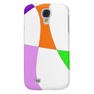 Coque Galaxy S4 Ballons colorés abstraits