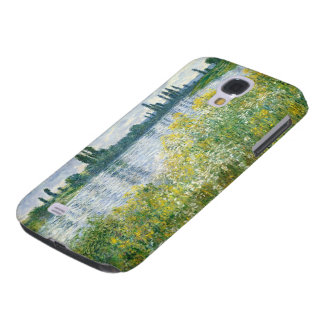 Coque Galaxy S4 Banques de Claude Monet | de la Seine, Vetheuil,