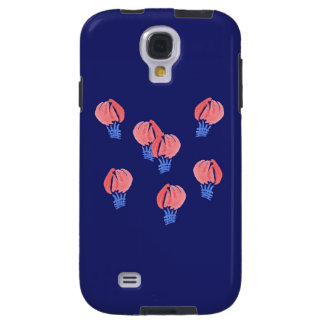 Coque Galaxy S4 Caisse de la galaxie S4 de Samsung de ballons à