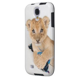 Coque Galaxy S4 Cas de téléphone de lion