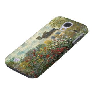 Coque Galaxy S4 Claude Monet | le jardin de l'artiste à Argenteuil