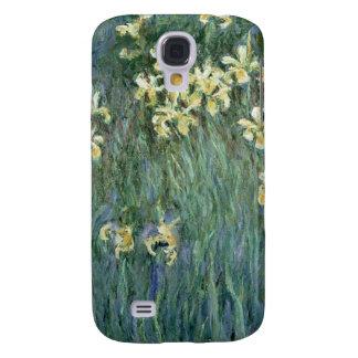 Coque Galaxy S4 Claude Monet | les iris jaunes