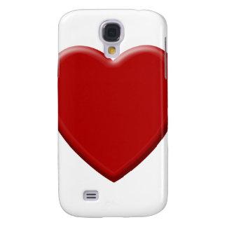 Coque Galaxy S4 Cœur d'amour rouge