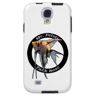 Coque Galaxy S4 Couverture de téléphone portable de M. Feisty Tank