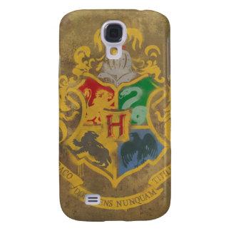 Coque Galaxy S4 Crête rustique de Harry Potter | Hogwarts
