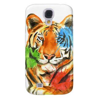 Coque Galaxy S4 Éclaboussure de tigre