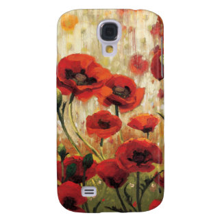 Coque Galaxy S4 Fleurs de ressort dans un jardin