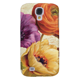 Coque Galaxy S4 Floral en pleine floraison